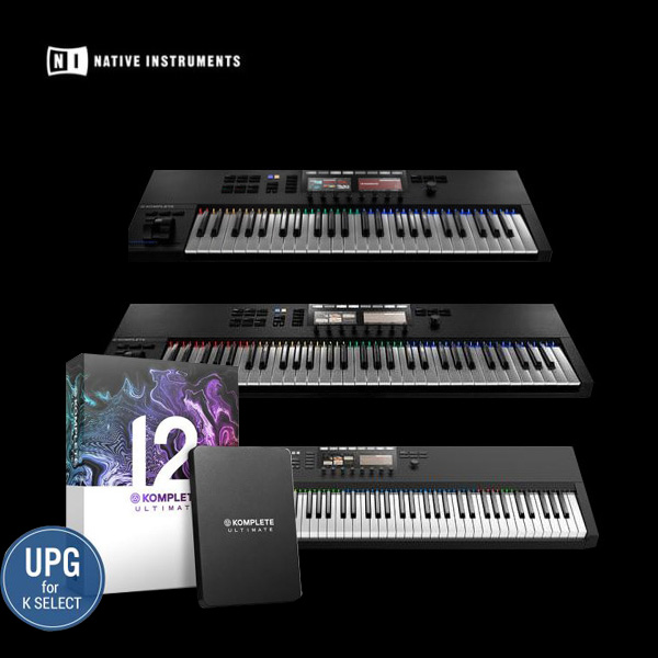 NI-KOMPLETE KONTROL S49 / S61 / S88 MK2 MK2 키보드 컨트롤러 / KOMPLETE 12 ULTIMATE UPG for K Select 패키지
