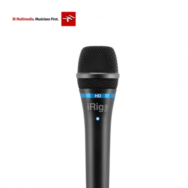 [IK Multimedia] iRig Mic HD 디지털 마이크로폰 - Black