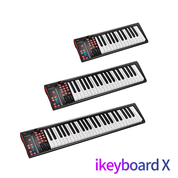 (ICON) I KEYBOARD X 시리즈 25/37/49 건반