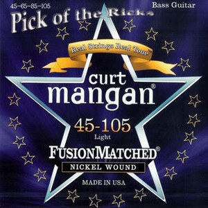 Curt Mangan 베이스줄 Nickel Wound (045-105)